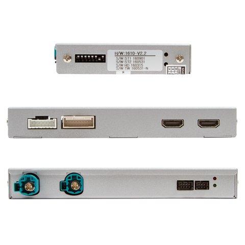 Видеоинтерфейс с HDMI для BMW с системой CIC- HIGH(NBT) Превью 2