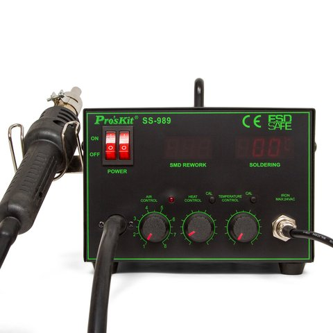 Термовоздушная паяльная станция Pro'sKit SS-989B