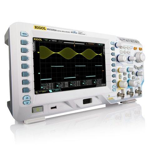 Цифровий осцилограф RIGOL MSO2202A Прев'ю 1