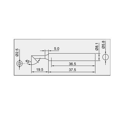 Паяльне жало Pro'sKit 5SI-131-2C Прев'ю 1