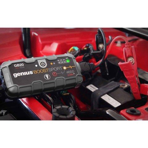 Пускозарядное устройство для автомобильного аккумулятора GB20 - Просмотр 6