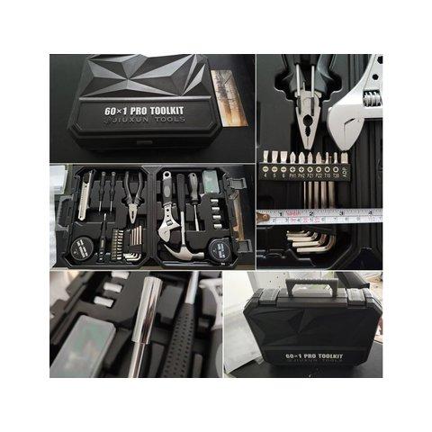Набір інструментів Xiaomi Jiuxun Tools Toolbox Pro для дому (60 шт.) Прев'ю 8