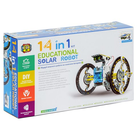Educational Solar Robot Kit 14 in 1 CIC 21-615 Preview 13