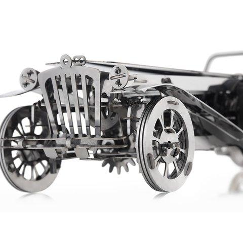 Металический механический 3D-пазл Time4Machine Glorious Cabrio Превью 5